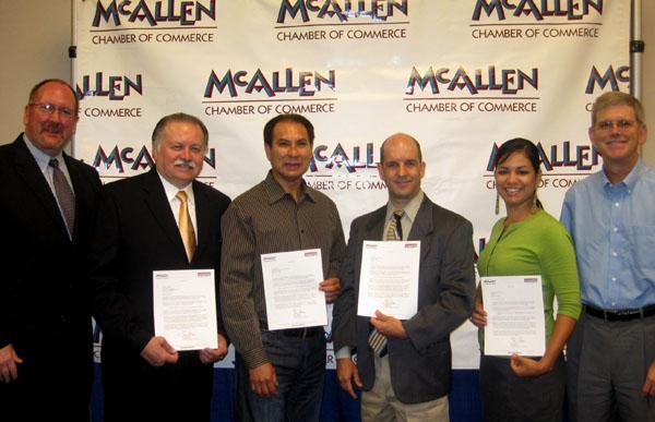 McAllen TX Chamber of Commerce Grant